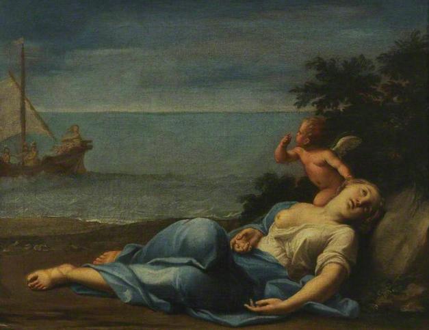"""""""Armida Abandoned"""", Marcantonio Franceschini"""