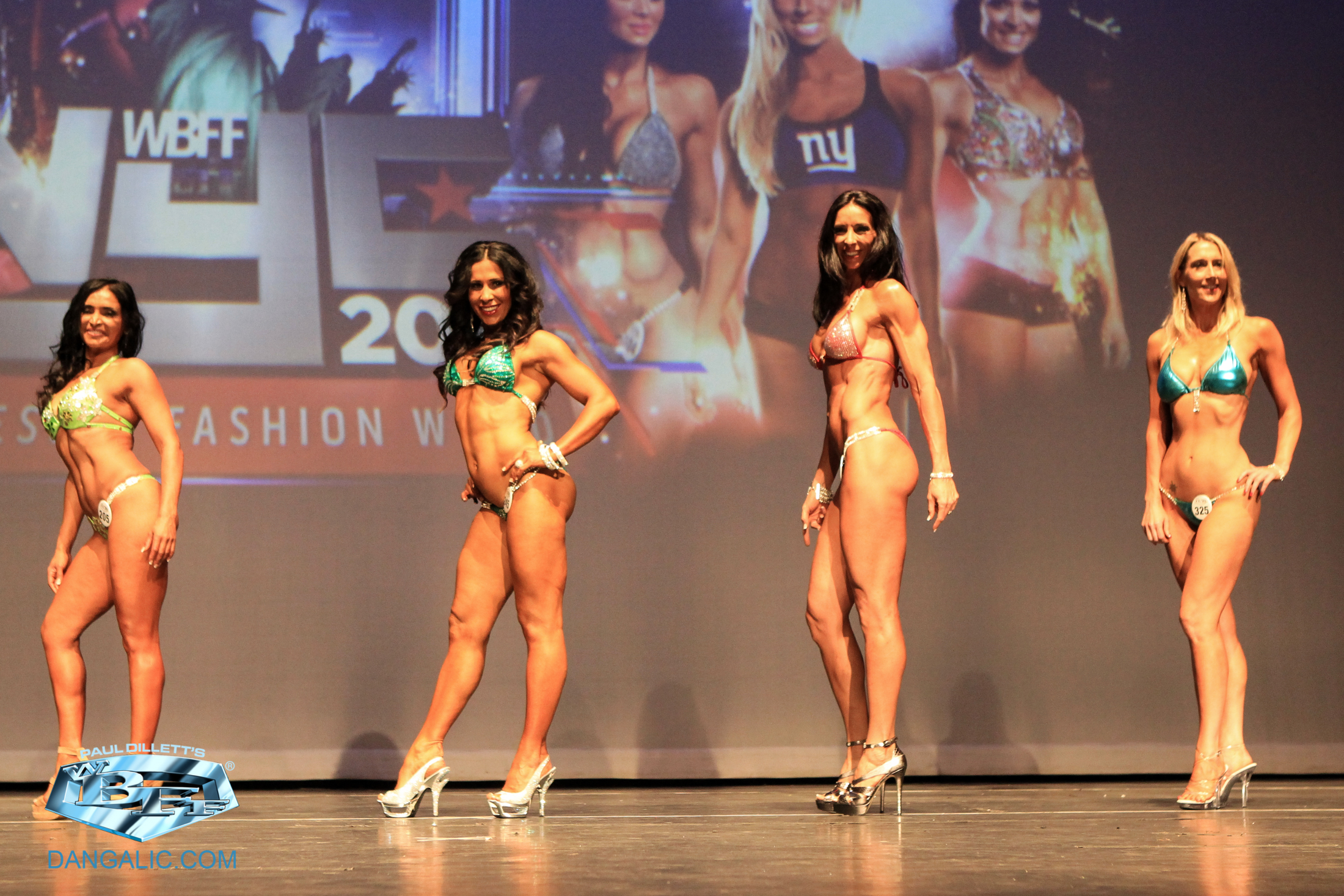 WBFF NYC 2014 - I'm on the right.