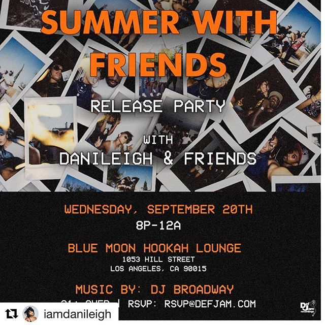 #Repost @iamdanileigh with @repostapp ・・・ RSVP only! It's bout to be a mooooovieeeeee 🚀🚀 let's turn up! I'm so happy and feel blessed to have dropped my first project ! Please come celebrate it with me this Wednesday! Unlimited Hookah /Liquor ! Everythaaang 😈😌✊🏽