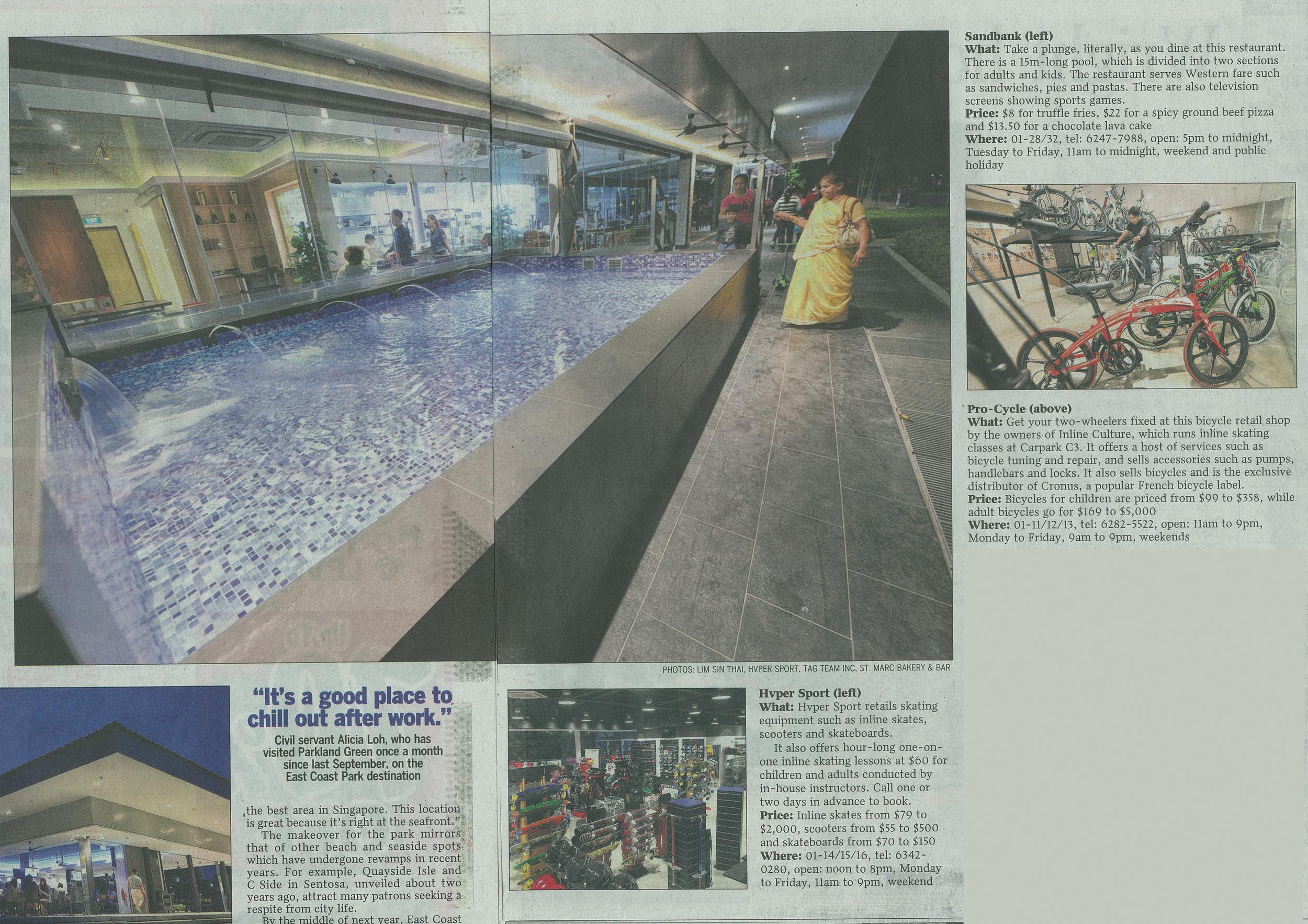 Straits Times January 2015