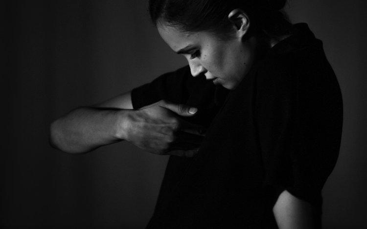 Image by Sebastien Galtier of dancer Nadine Drouin