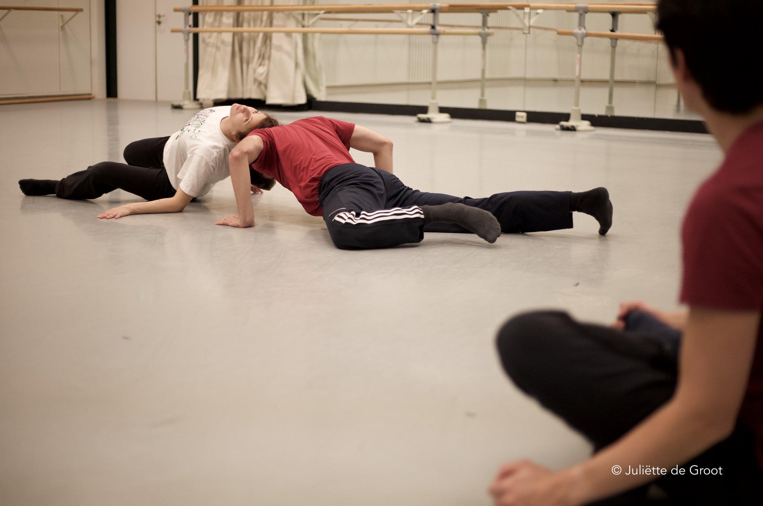 Rehearsal shot ©Juliette de Groot