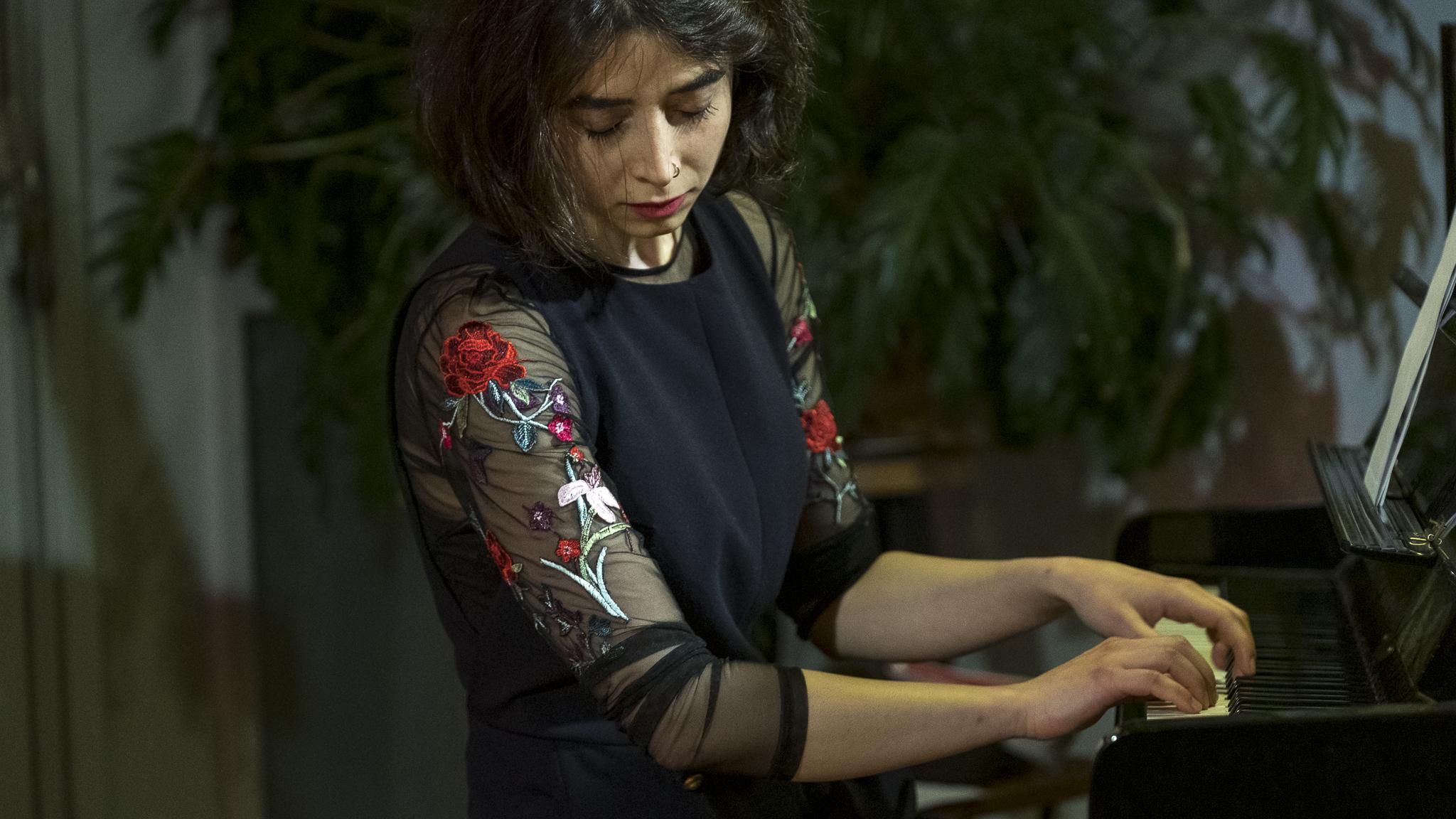Pianist Setareh Nafisi