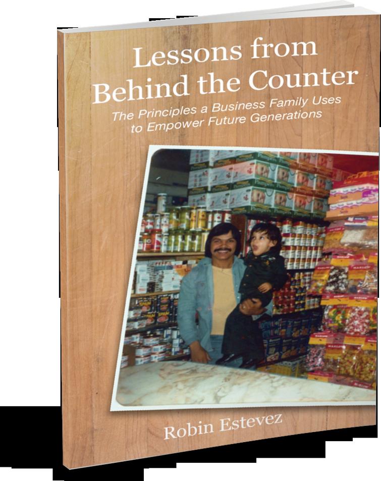 Behind The Counter - Robin Estevez