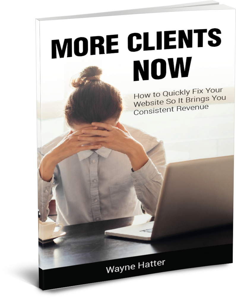 More Clients Now by Wayne Hatter