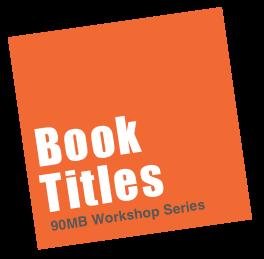 Book Titles Workshop
