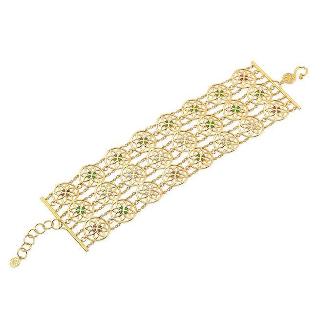 22k Gold Chain Bracelet.
