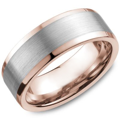 18kt Rose and White Gold