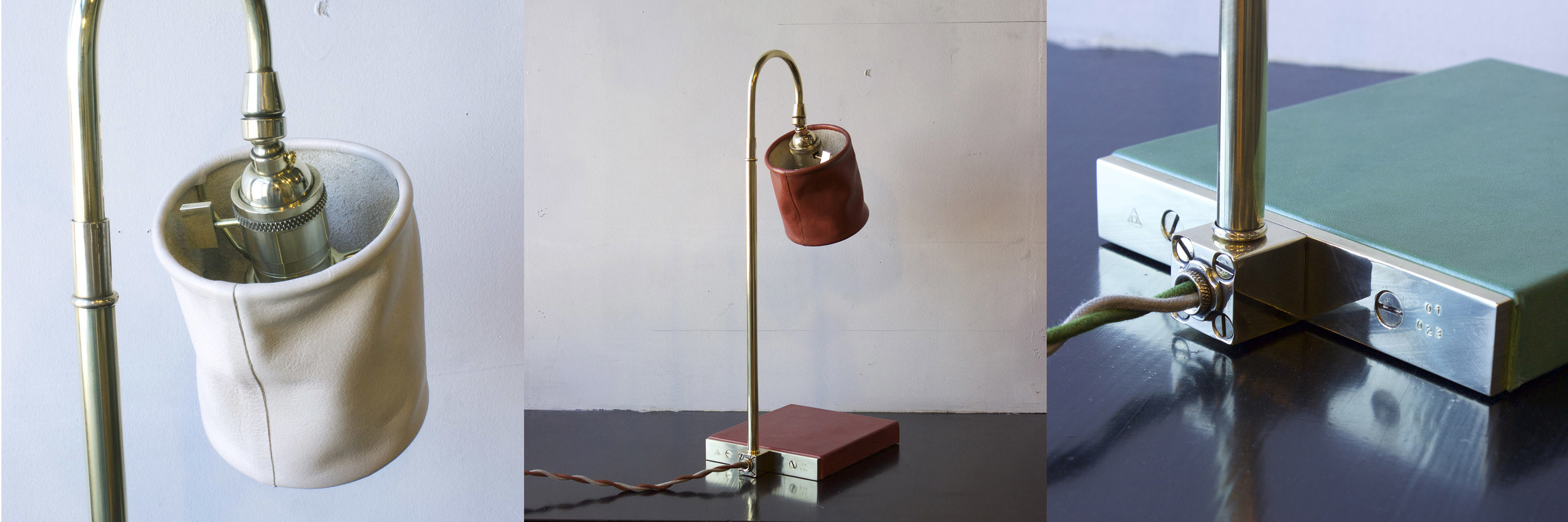 Series 01 desk lamps,  2015.