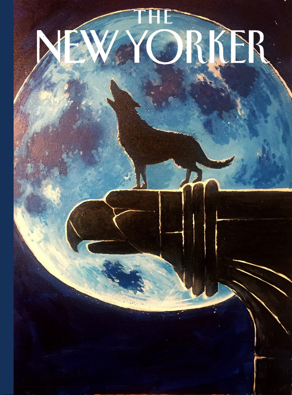 Proposed cover for The New Yorker