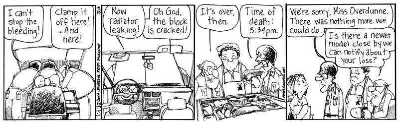 """""""The Elderberries"""" daily strip"""