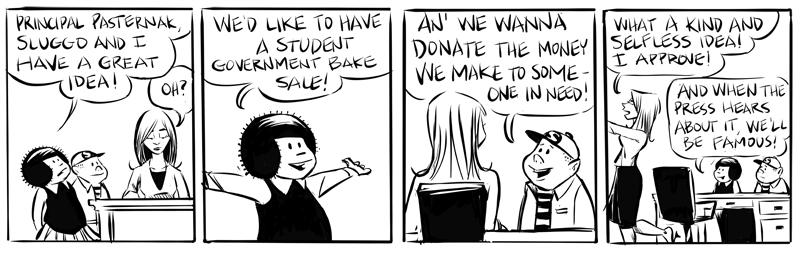 "A ""Nancy"" daily strip"