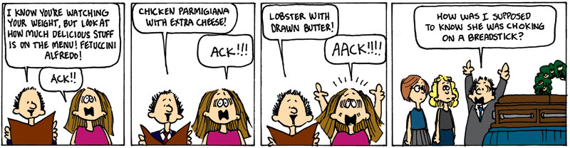 """The Final """"Cathy"""" comic strips"""