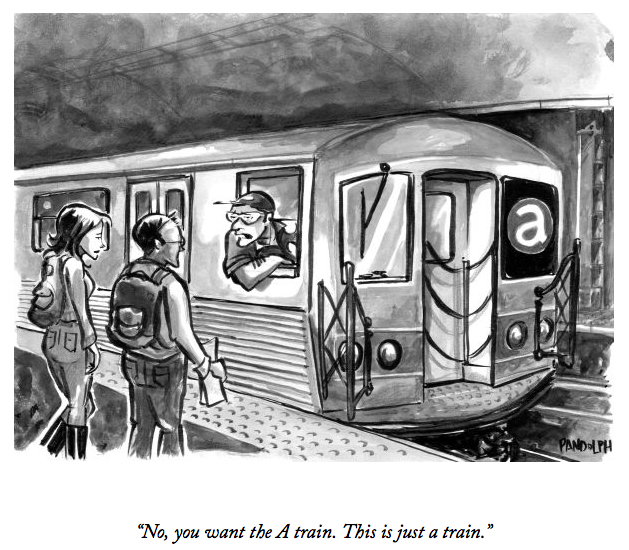 Cartoon for The New Yorker