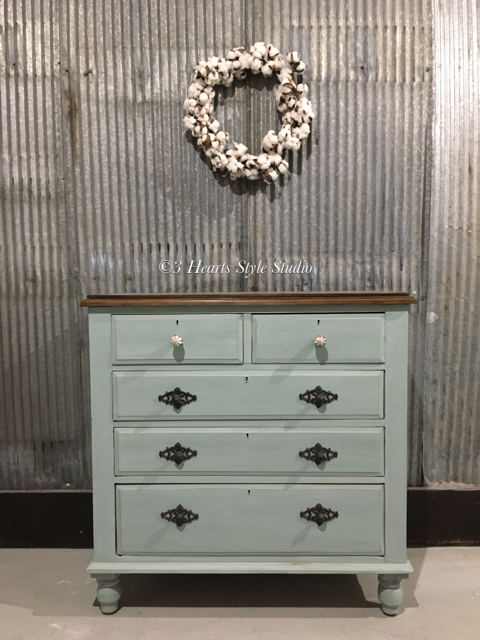 Duck Egg Rustic Furniture Dresser Denver Colorado