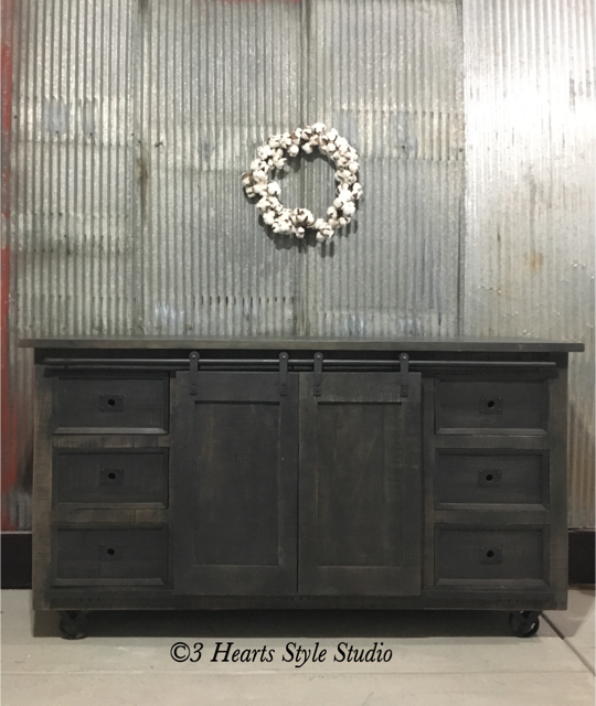 Rustic Industrial Farmhouse Furniture Denver Colorado