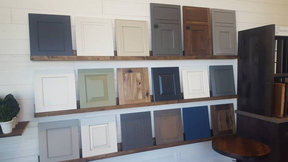 Just a sampling of the cabinet selection at Quail + Blu