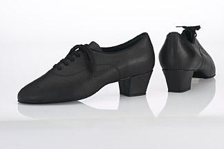 Typical men's Latin dance shoes.