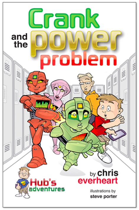 Hub helps save his best friend Crank from robot disaster!