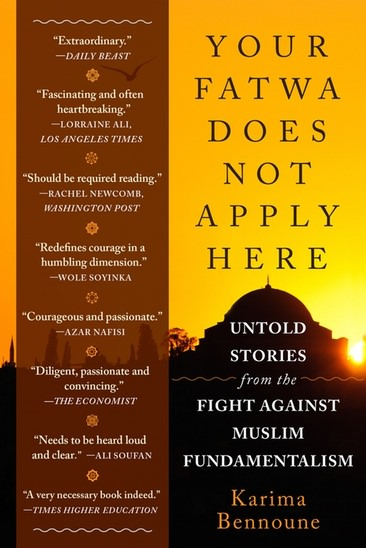 """This book contains the stories of the murders and devastation caused by people who consider themselves the religious guardians of Islam and who feel they alone have the right to determine who is and who is not worthy to be considered a Muslim...and the brave men and women with the courage to oppose them.        A Must Read     !              """"..the struggle waged in Muslim majority societies against extremism is one of the most important-and-overlooked human rights struggles in the world.""""         …….karima bennoune"""