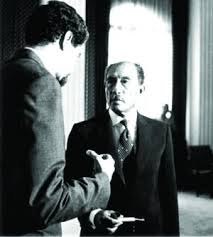Abdallah Schleifer in conversation with President Anwar Sadat of Egypt