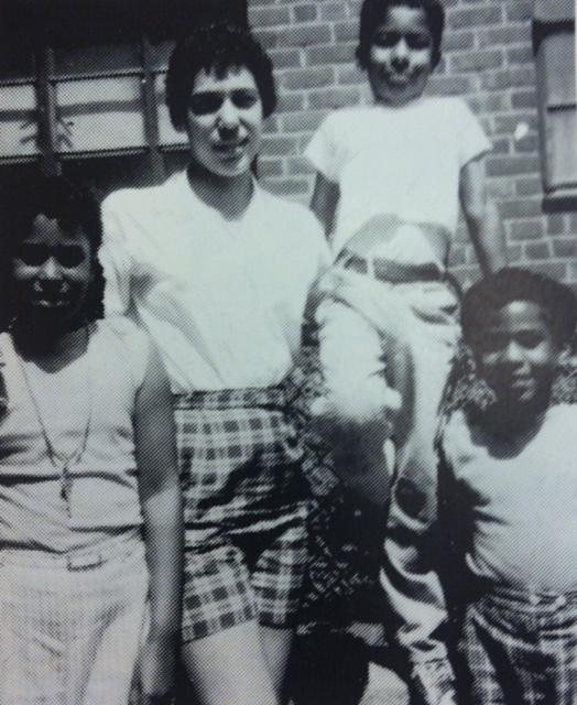 (L to R) Sis. Camille, my cousin Carlotta, Mahmoud and Sis. Renata  circa 1956-7