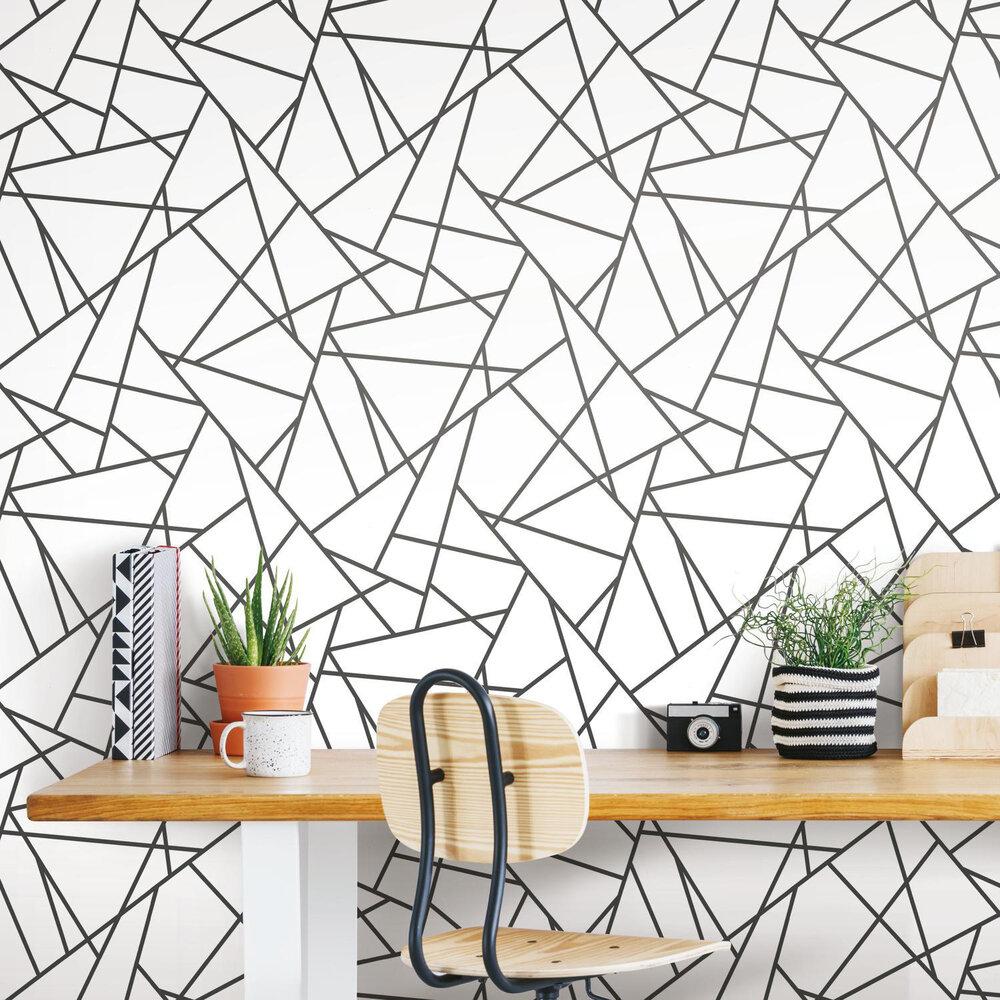 Rmk11267wp Fracture Peel Stick Wallpaper Jojo Design Studio
