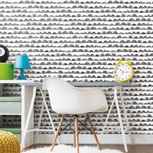 Rmk11273rl Doodle Scallop Peel Stick Wallpaper Jojo Design Studio