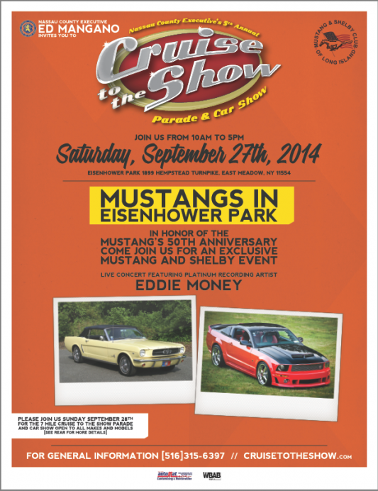 Mustangs only on Saturday