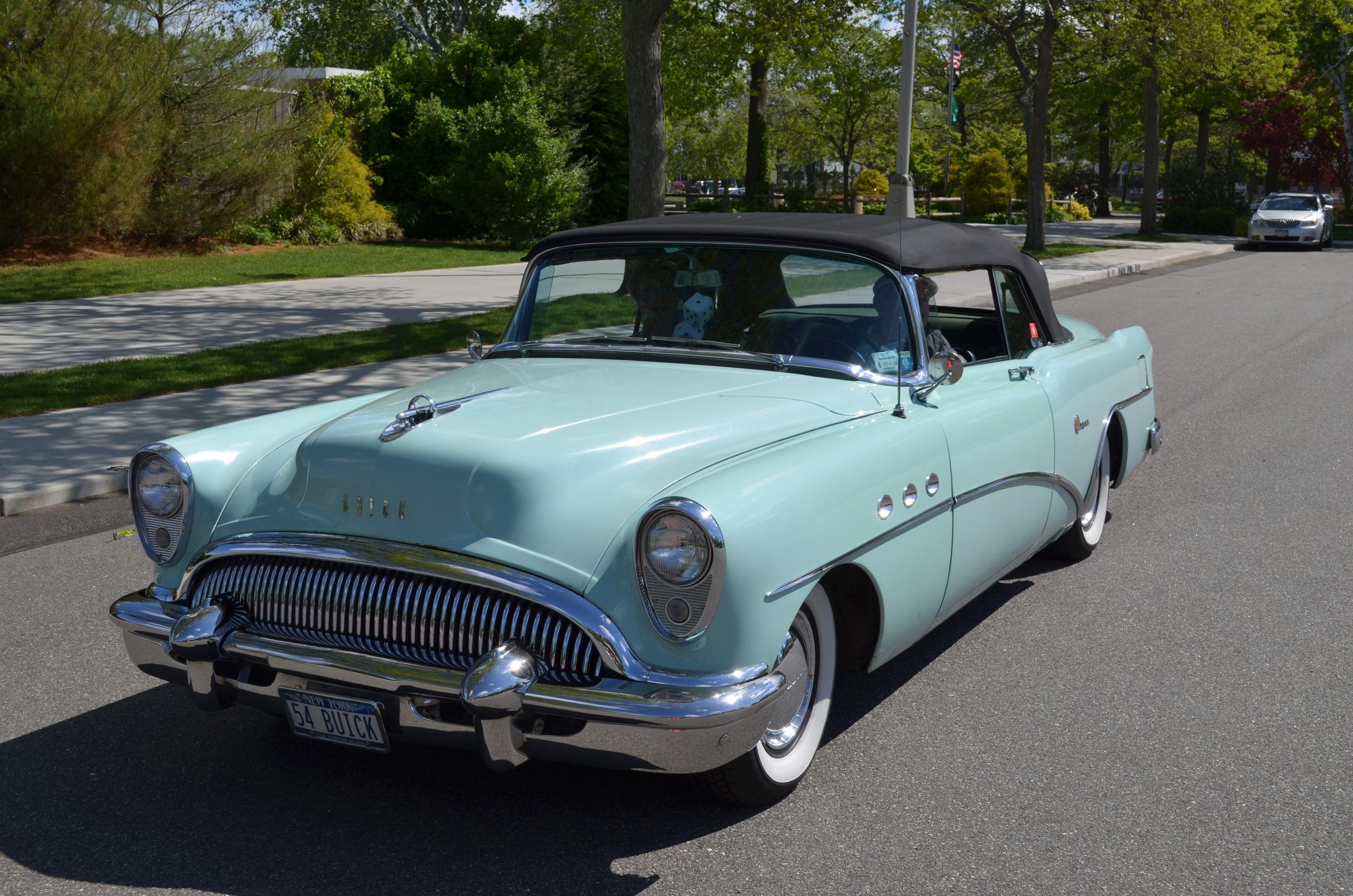 John & Margie Bosco: 1954 Century Convertible