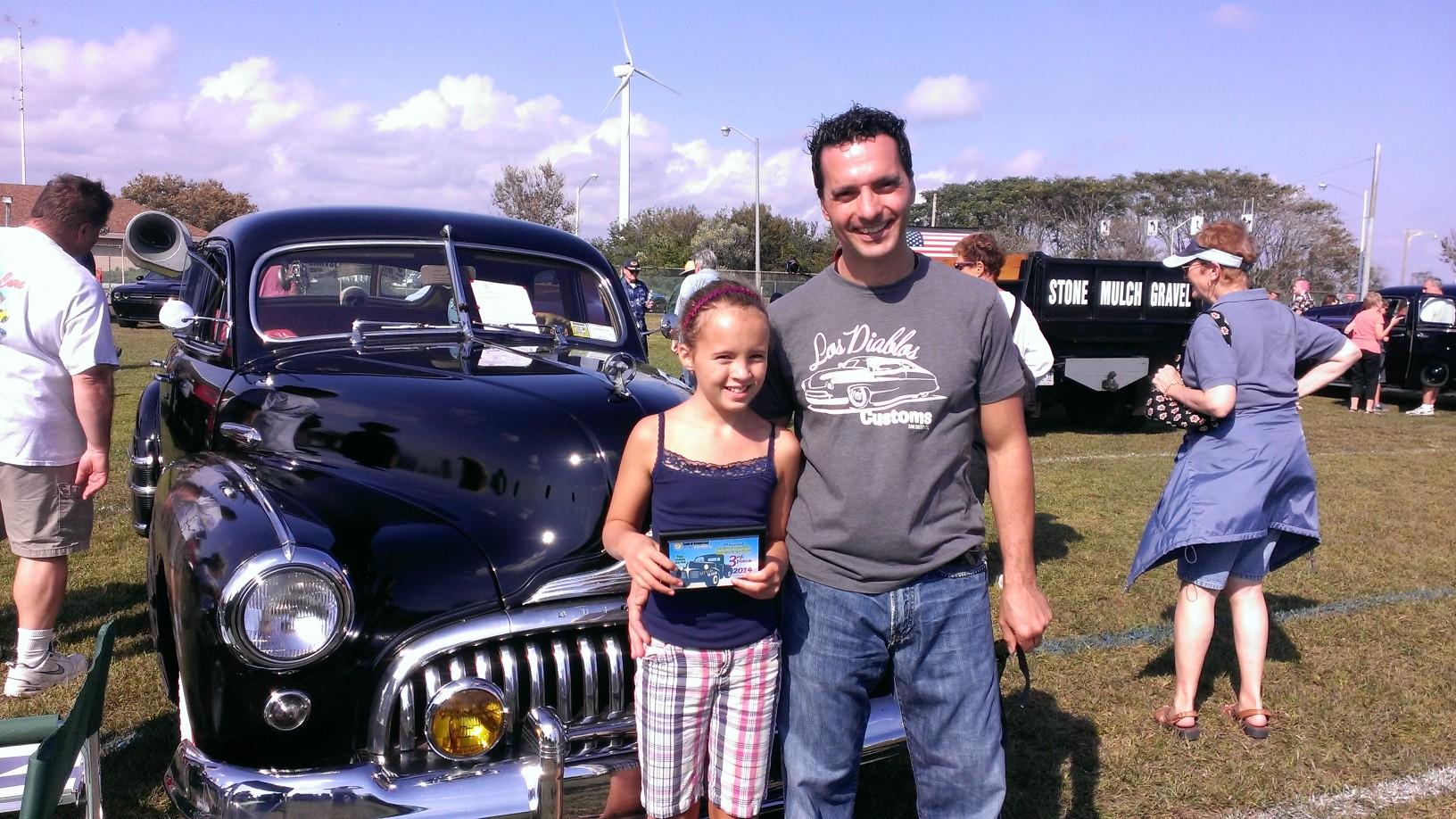 Frank & Sophia Tedesco & 1947 Special Sedan
