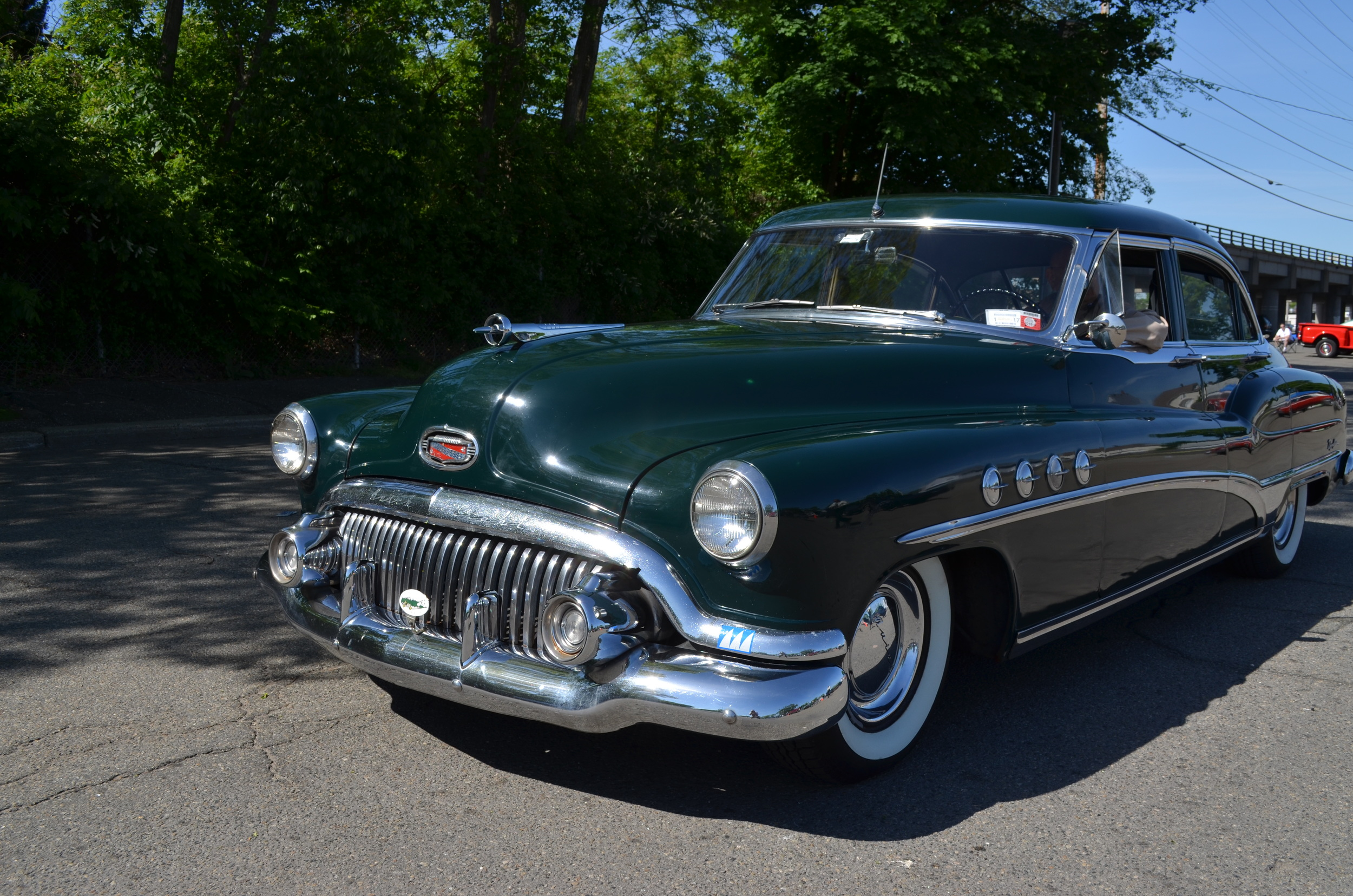 Allan Warren: 1951 Roadmaster Riviera Sedan