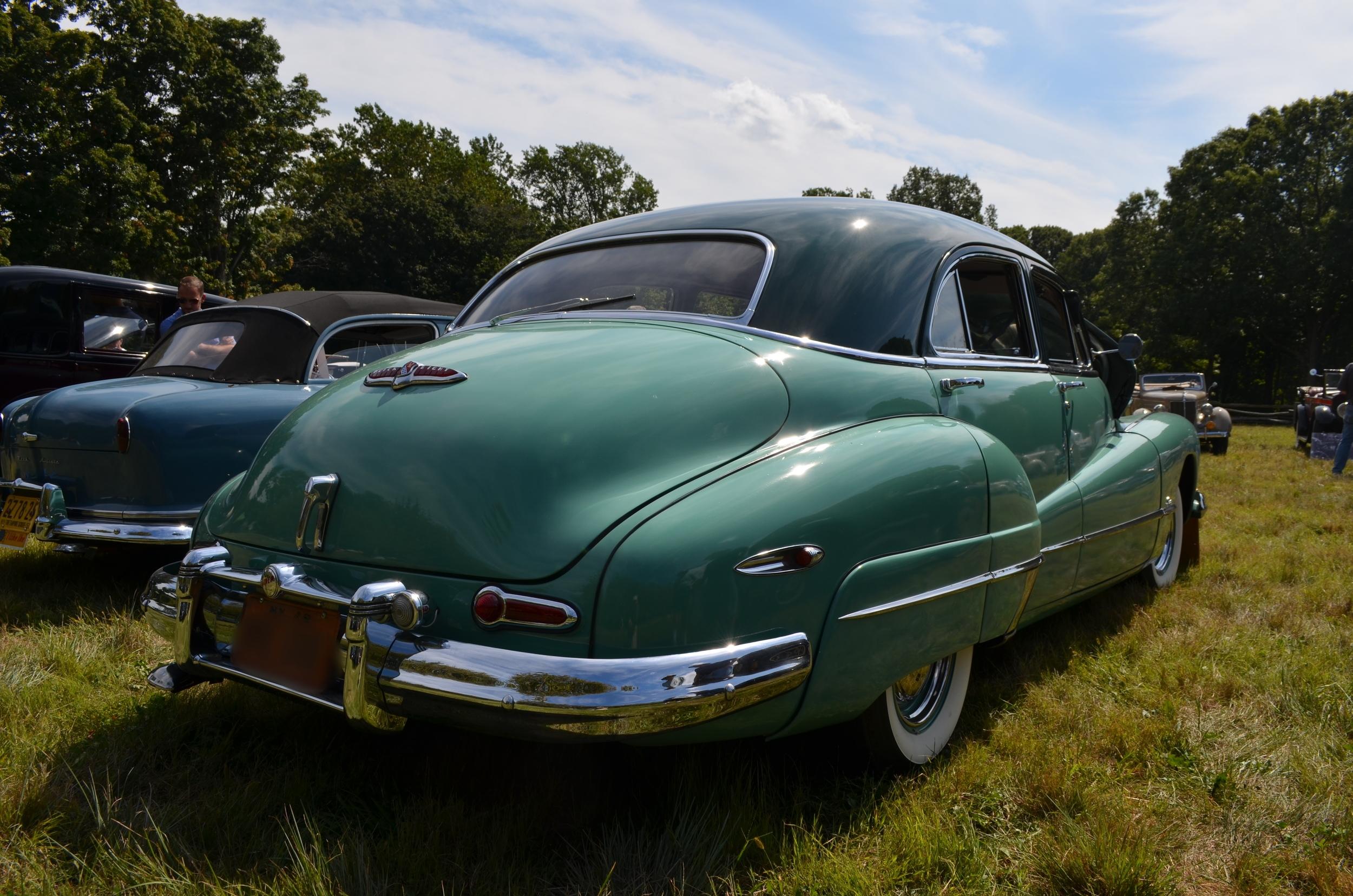 David & Jo Ann Millard: 1948 Super 4Dr. sedan