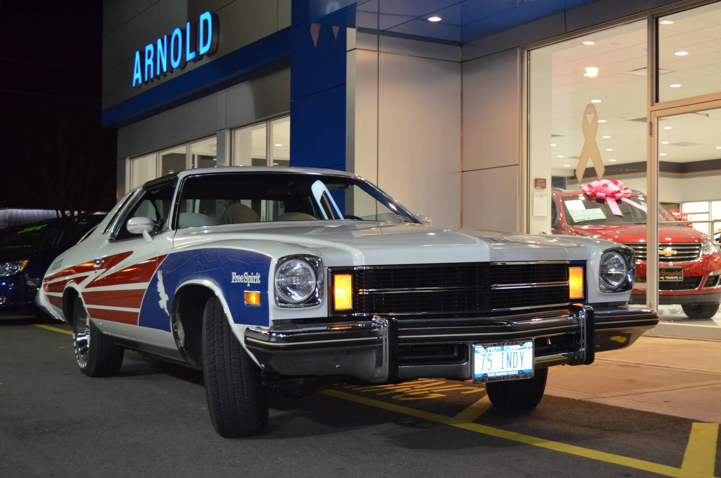 1975 INDY pace car