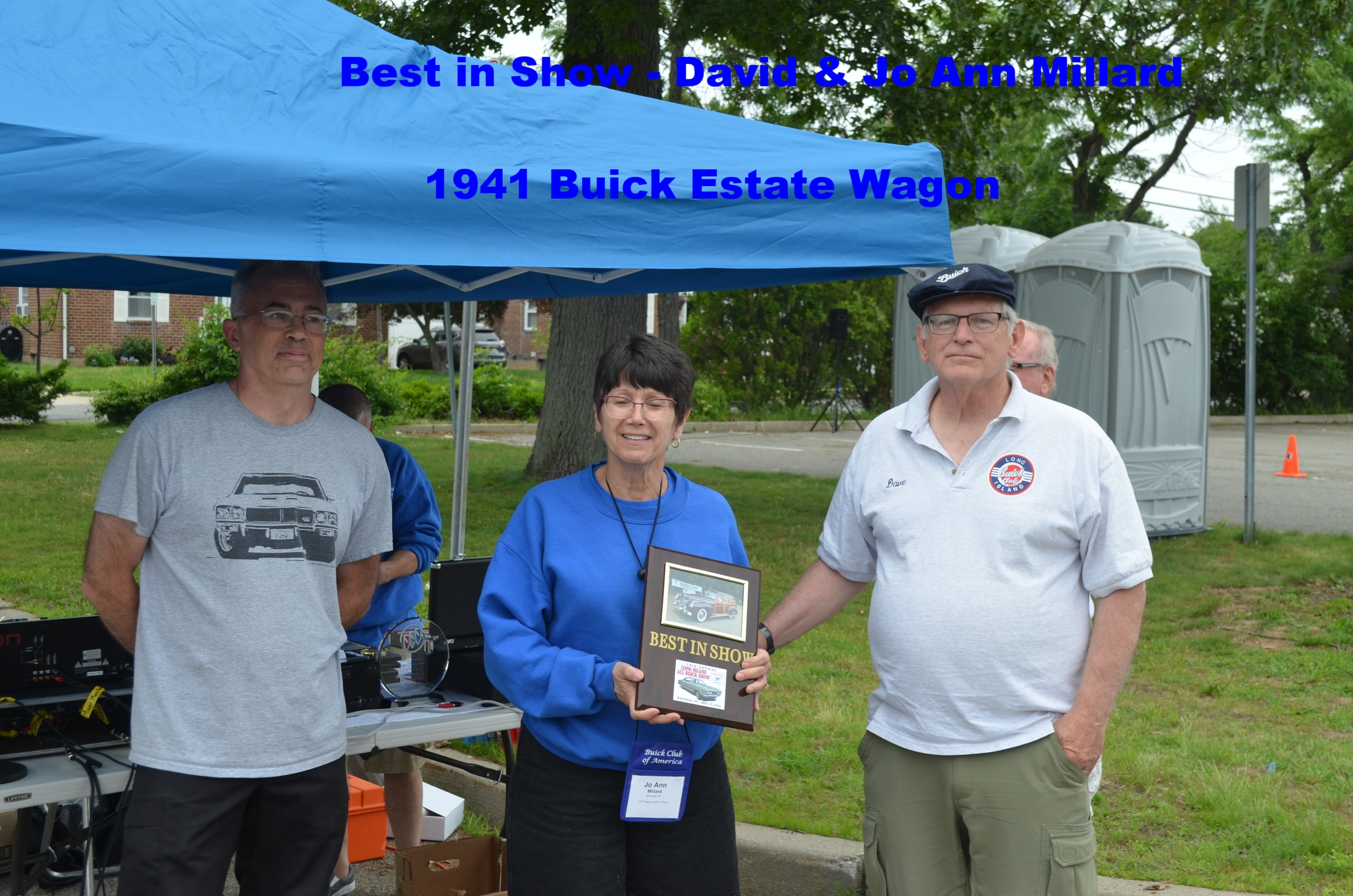 Best in Show - David and Jo An Millard - 1941 Buick Estate Wagon