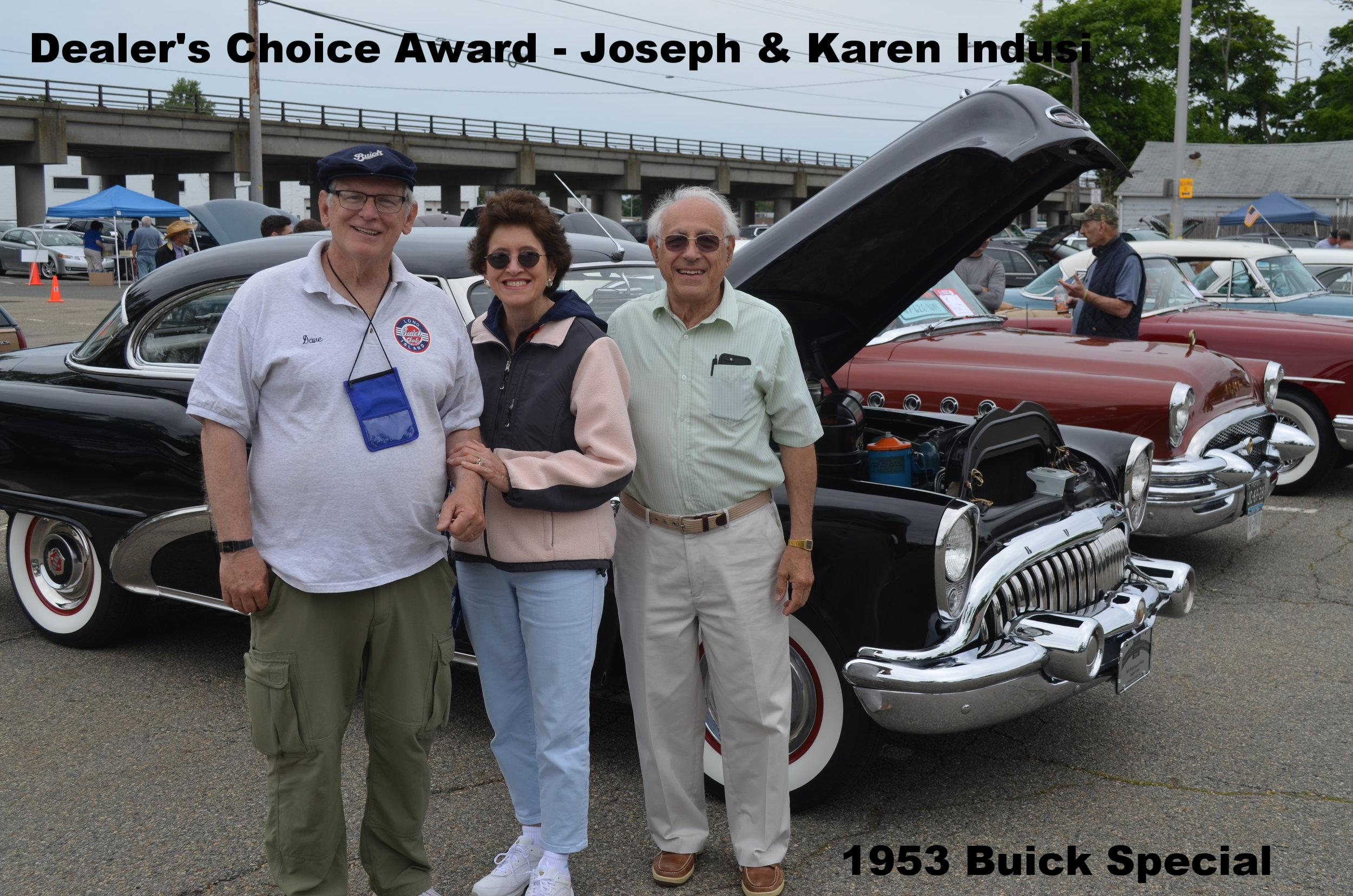 Dealer's Choice Award - Joseph & Karen Indusi - 1953 Special