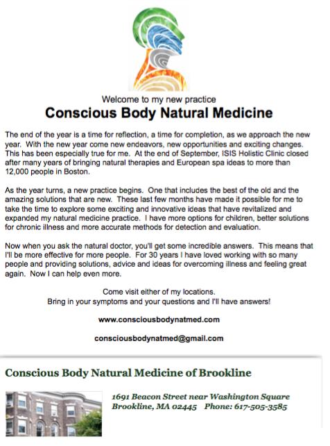 New Practice Newsletter November 2014