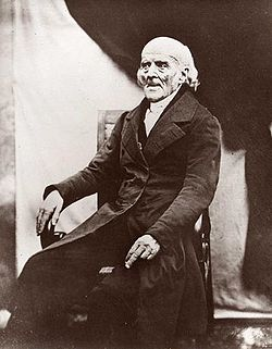 Dr. Samuel Hahnemann, 2 years before his death.