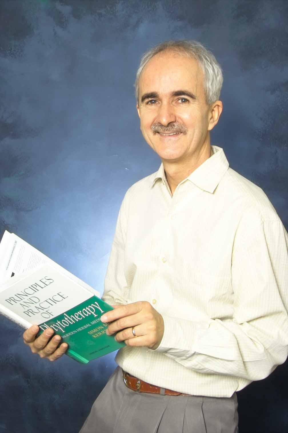 Dr. Kerry Bone, PhD, Founder of MediHerb of Australia and the most recognized published author and researcher on the use of herbs in clinical medicine.