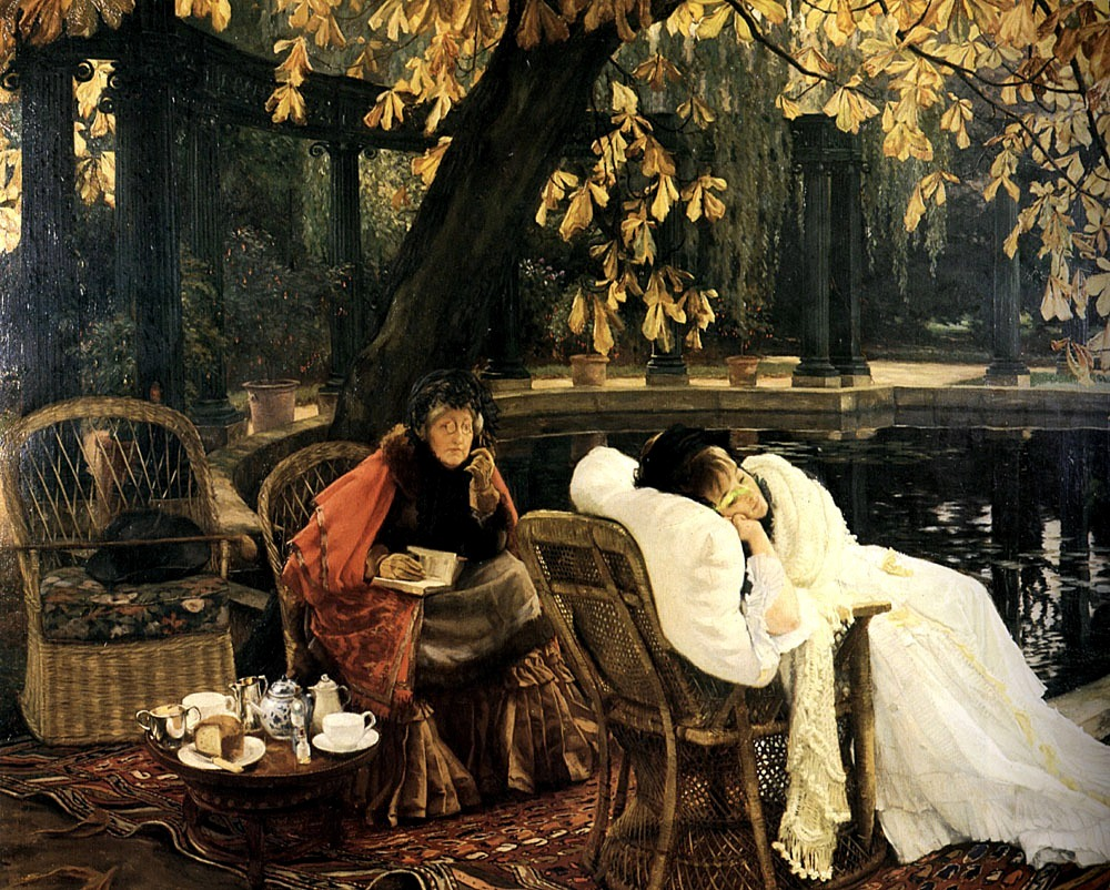Convalescence by Tissot