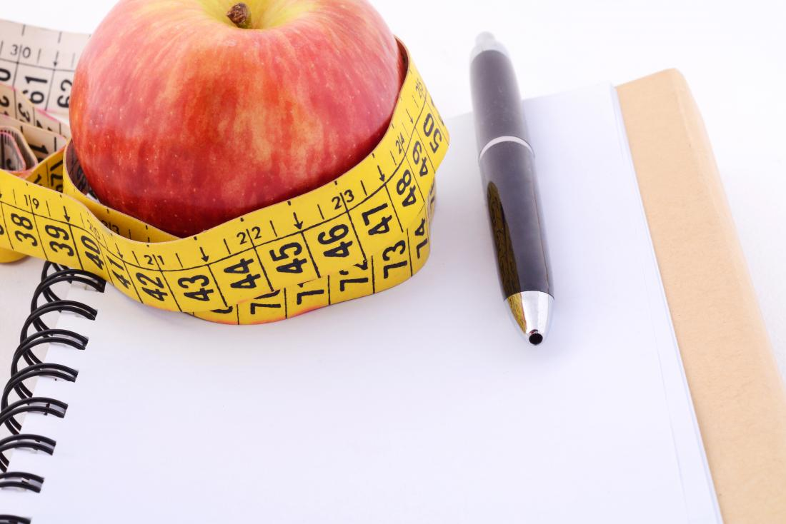 Prepare for your weight loss journey by stocking up on healthy foods, measure and weigh yourself and keep a journal of your food, how you feel and motivational thoughts!
