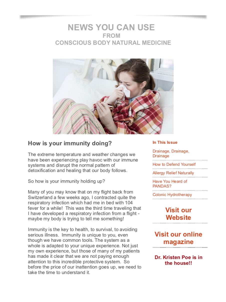 Immunity Newsletter 2017
