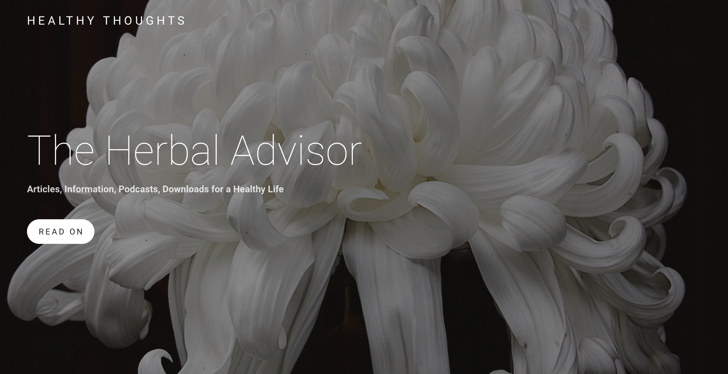 Herbal Advisor Website Open Page.png