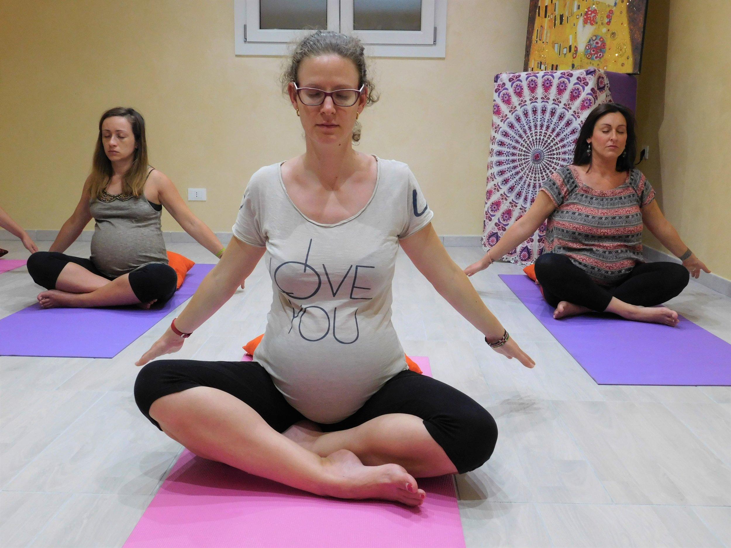 yogagravidanzalarayoga