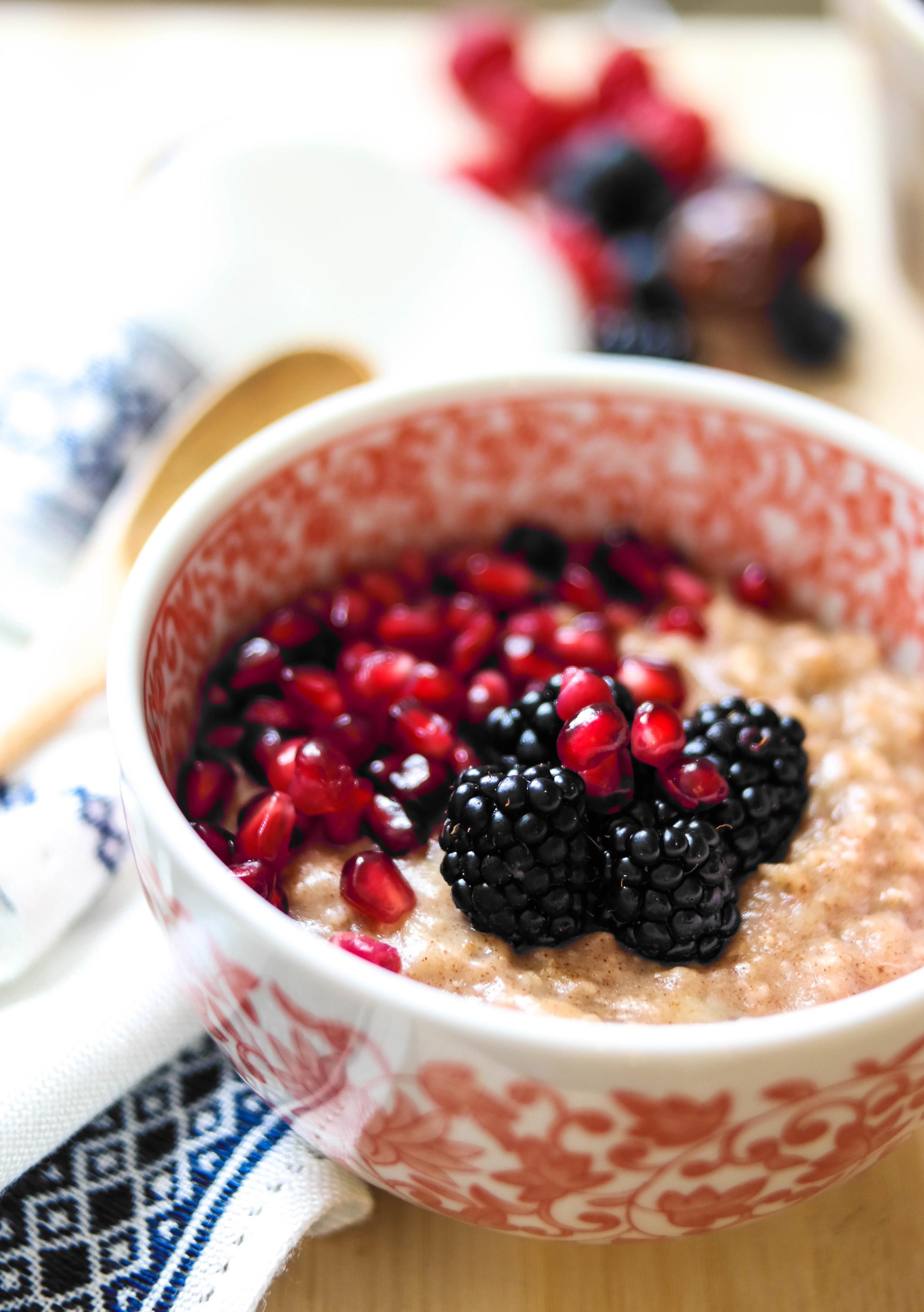 Creamy-Morning-Porridge | www.8thandlake.com