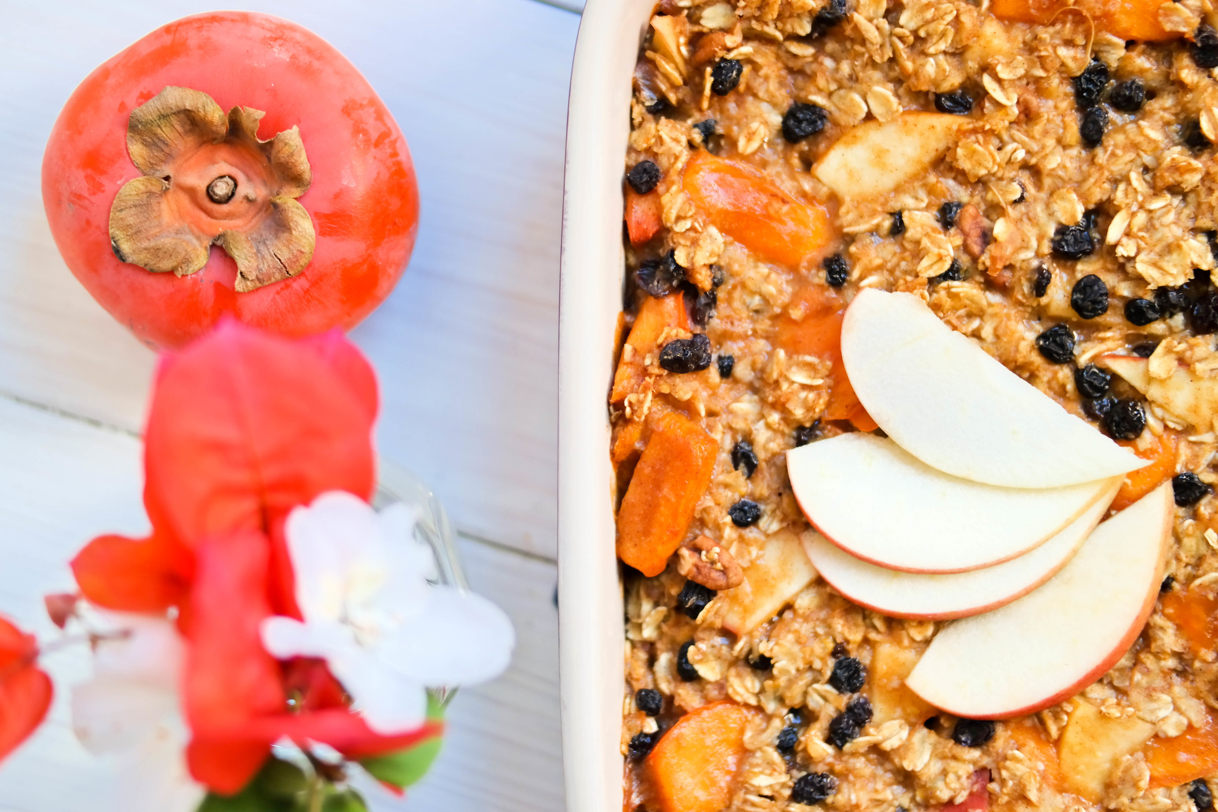 3-Winter-Baked-Oatmeal-with-Persimmons-and-Apple | www.8thandlake.com
