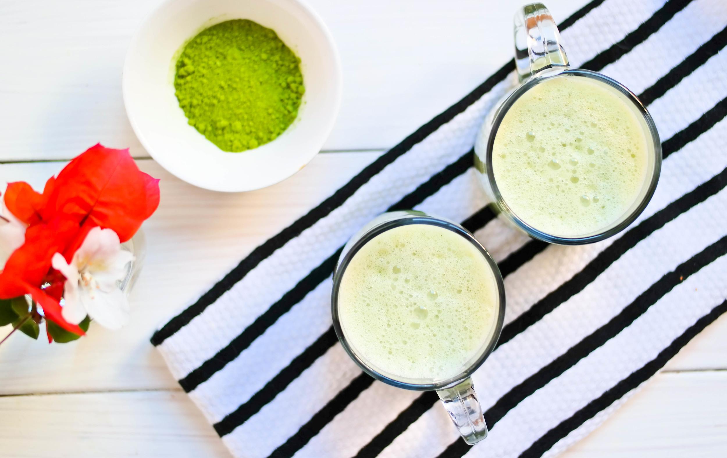 Spiced-Matcha-Latte | www.8thandlake.com