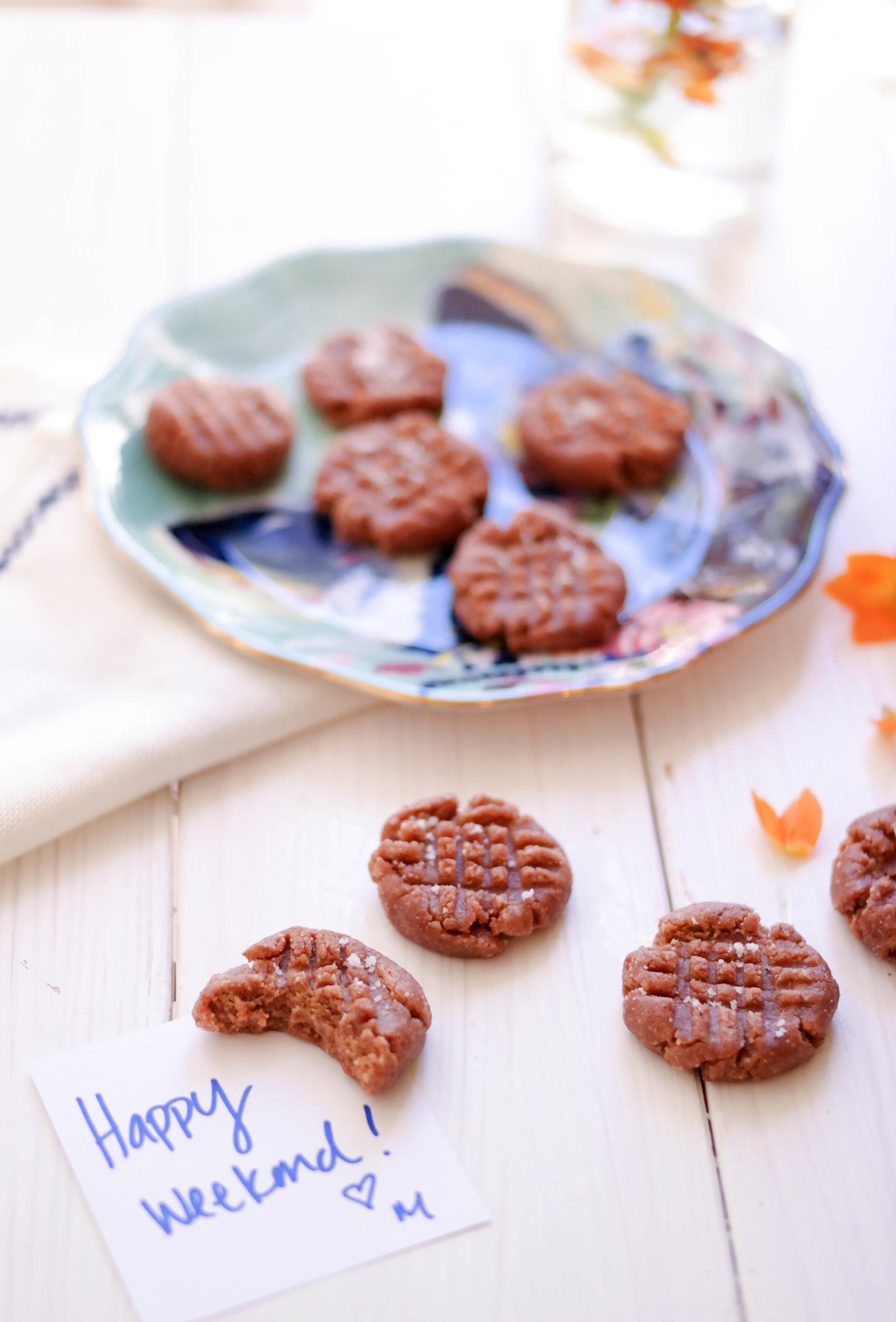 No-Bake-Almond-Butter-Cookies   www.8thandlake.com