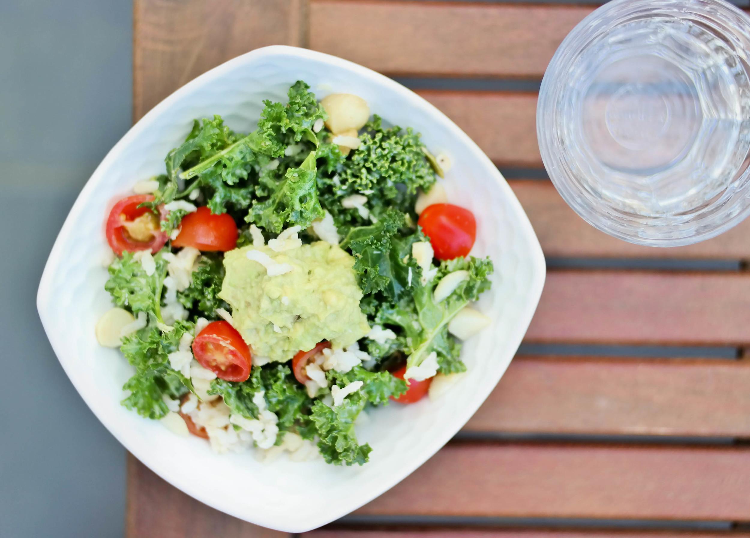 5-A-Spring-Kale-Salad | www.8thandlake.com