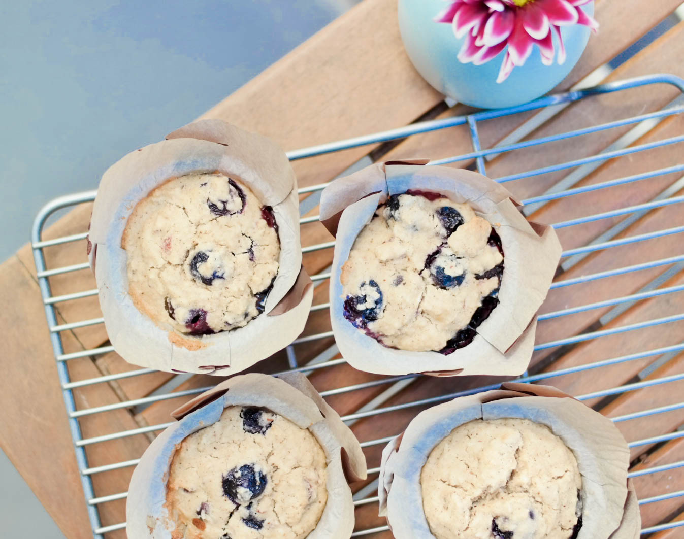 2-Blueberry-Coconut-Muffins | www.8thandlake.com